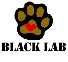 I Love My Black Lab by kwg2200