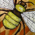 Flight of the Bumblebee IV by Lynnette Shelley