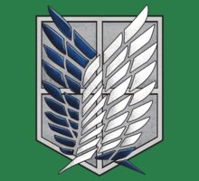 Survey Corps wings by Fandominator