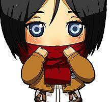 Chibi Mikasa by EndouHemel