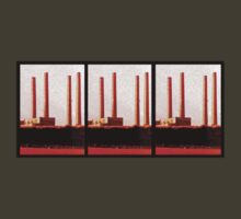 blyth power station from cambois beach by Paul Summers
