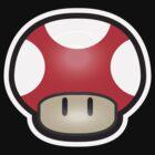 Mushroom-Red by DarkChoocoolat
