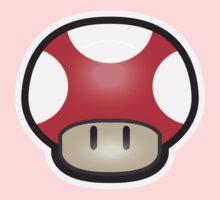 Mushroom-Red Kids Clothes