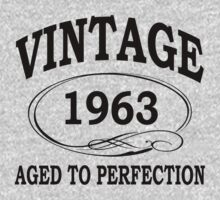 vintage 1963 aged to perfection by diannasdesign
