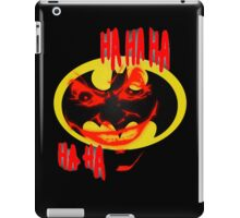 joker and batman iPad Case/Skin