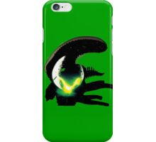 alien pop culture silhouette iPhone Case/Skin