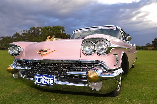 Pink Cadillac by Neil Bushby