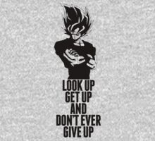 Don't ever give up (Goku style) by Timmyb0y