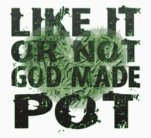 God Made Pot by Bethany-Bailey