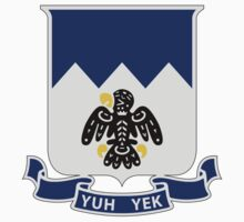 297th Infantry Regiment - Yuh Yek - Vigilance, Watchfulness by VeteranGraphics
