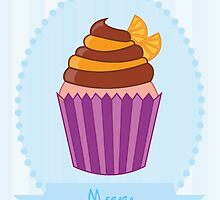 Megara Cupcake Case by lirazartberger