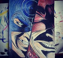Daredevil and Bullseye  by suzannexp