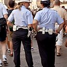 Police in Florence Italy by imagic