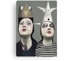 The Girls With Hats Canvas Print