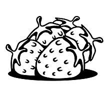 Strawberry fruit sweet bio by Motiv-Lady