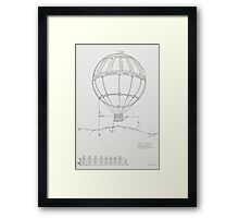 The Cork Extractor. Framed Print