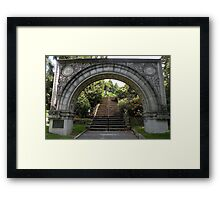 The Anniversary Arch Framed Print