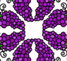 Grapes c1 Sticker