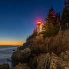 Bass Harbor Head Lighthouse by Karen  Burgess