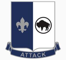 371st Infantry Regiment - Attack by VeteranGraphics