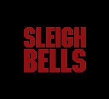 Sleigh Bells Maroon Logo by djcoop64