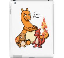charmandar,charmeleon and charazard iPad Case/Skin