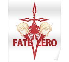 Fate Zero Command Spell Poster
