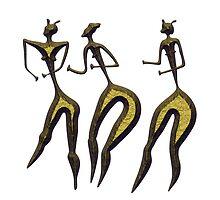 women - primitive art by siloto