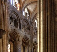 Durham Cathedral Arch by Tom Gomez