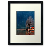 Gone fishing | waterscape photography Framed Print