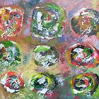 Abstract Expressionism 8 by Bea Roberts