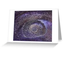 Trippy Eye Psychedelic Poster Greeting Card