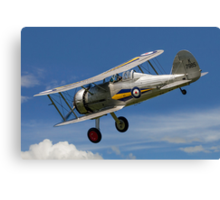 Gloster Gladiator I K7985 G-AMRK banking in the sunshine Canvas Print