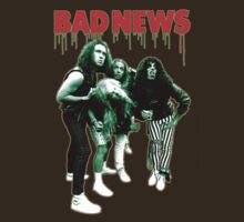 BAD NEWS Heavy Metal T-Shirt by horrorkid