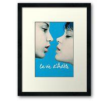 Blue is the Warmest Color poster Framed Print