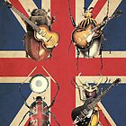 Meet the Beetles (Union Jack Option) by Eric Fan