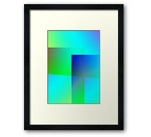 Flux Framed Print