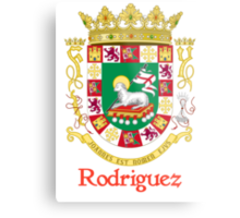 Rodriguez Shield of Puerto Rico Metal Print