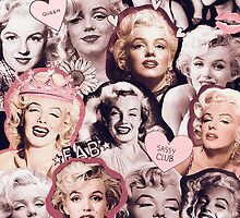 Marilyn Monroe Collage by bigelowed