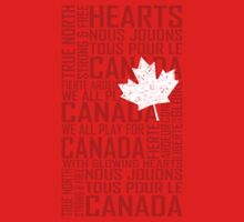 We All Play for Canada (Red) by Russ Jericho