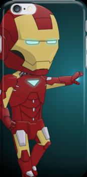 Chibi Iron Man by eliriv
