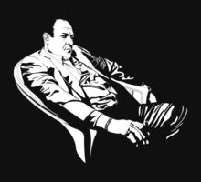 Tony Soprano thinking by evaparaiso