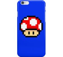 Red Mario Mushroom iPhone Case/Skin