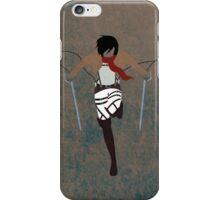 Mikasa Ackerman iPhone Case/Skin