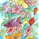 Colorful Flowers II by SharonAHenson