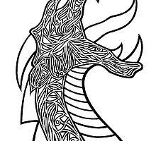 Fierce Dragon by ninibursnarfsky