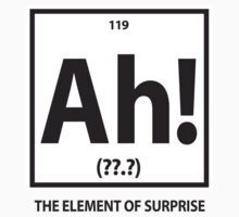 Ah!  The element of surprise.  by avdesigns