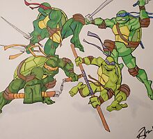 TMNT by Brittany Ketcham