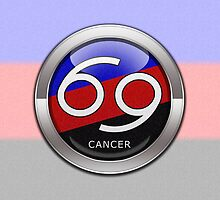 Cancer - Polyamory Pride  by LiveLoudGraphic