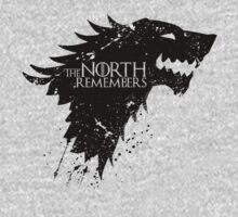 Game of Thrones … The North Remembers (Black) by OliveB